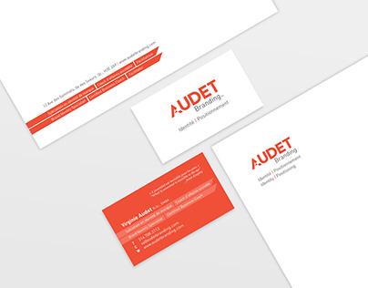 Audet Branding _ Papeterie   Stationary