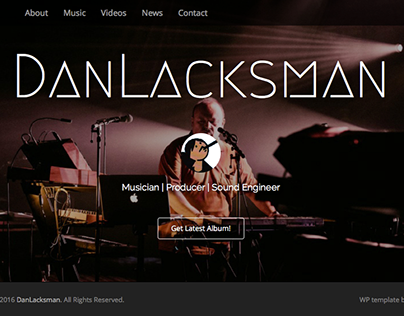 Website - DanLacksman.be