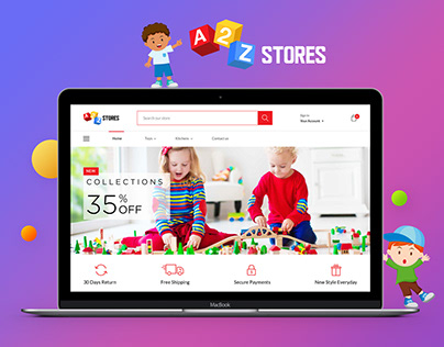 A2Z Stores - Ecommerce Website