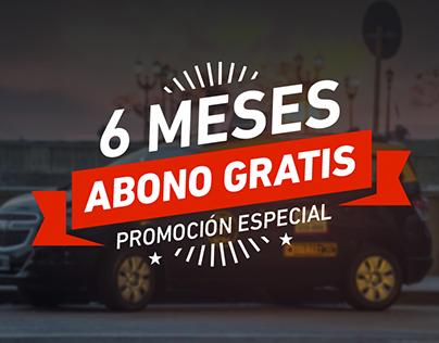 Campaña Beneficios - Taxi Premium