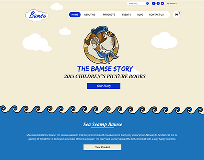 Redesign new layout Bamse.co.uk
