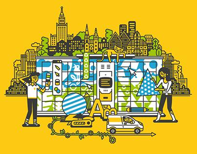 Art Inpost promo illustration