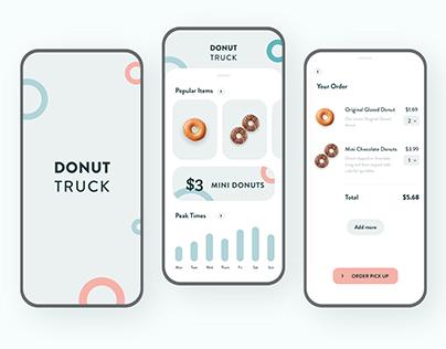 Donut Truck: Color Palette