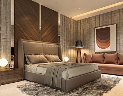 12 Janta Enclave - Bedroom
