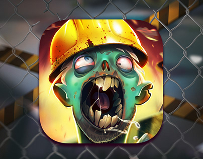 Zombie Blast - Mobile Game UI