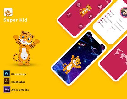 Mobile App :: Super Kid