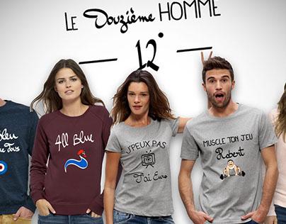 #ClothingBrand - Le Douzième Homme