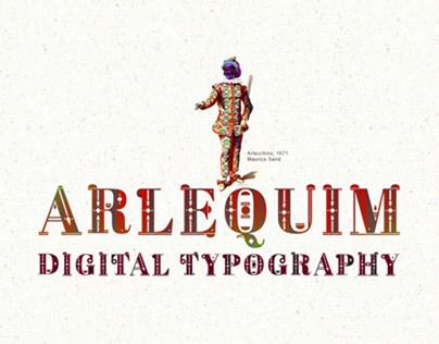 Arlequim - Digital Typography