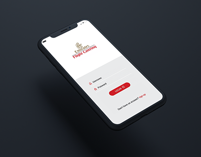 Emirates Mobile App. Ui/Ux Design