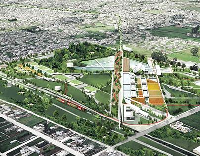 """Diseño parque urbano """"El Beaterio"""""""