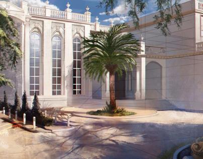 Concept art - palace