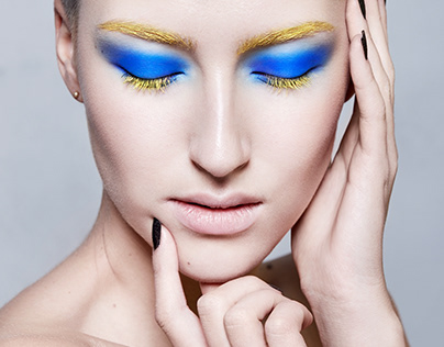 Beauty editorial for iMirage Magazine