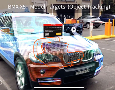 Augmented Reality - Model Targets AR