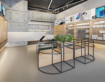 Mobile Shop i:Store at Armenia