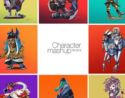 Character Mashup Tết 2018