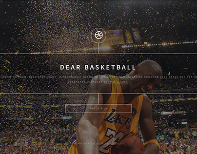 Dear Basketball - By Kobe Bryant