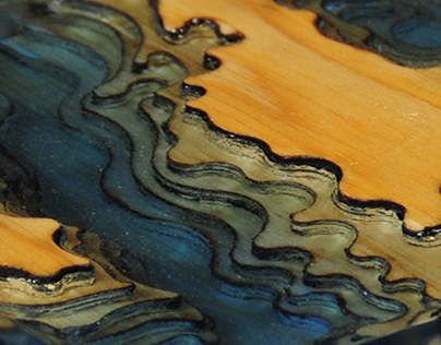 Poured Topography