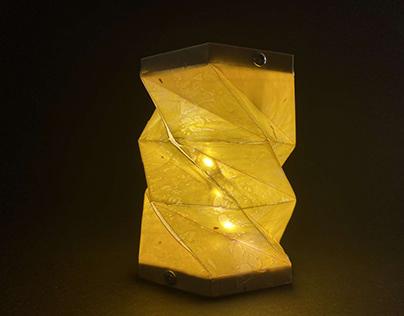 CLAMP: Recycled Polypropylene Lamp
