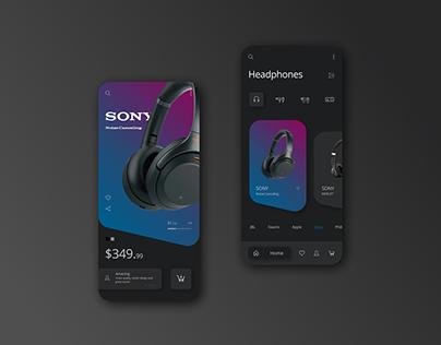 Mobile Store Concept | UI Design