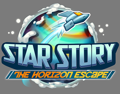 Star Story: the Horizon Escape logo&GUI