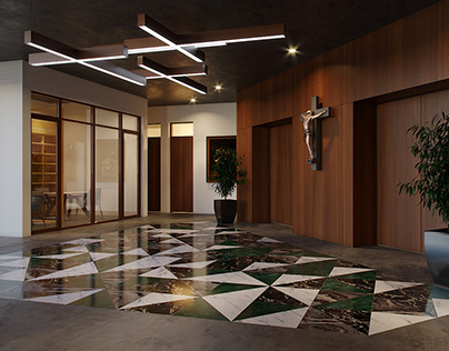 MSC Catholic Academy - Main Lobby