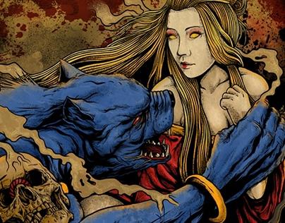 Blood Moon Goddess
