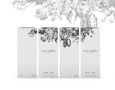 Grasse au parfum - Branding et packaging