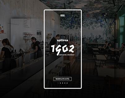 Website Design: 1902 Spižírna Bistro