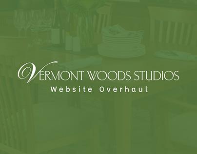 Vermont Woods Studios : Website Overhaul