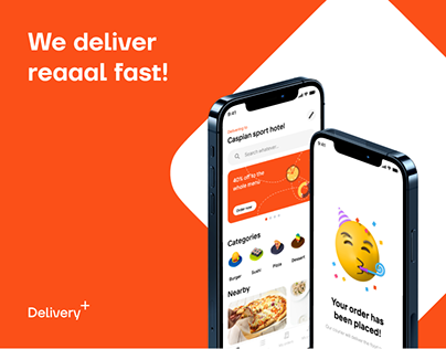 Delivery+ | UI/UX design