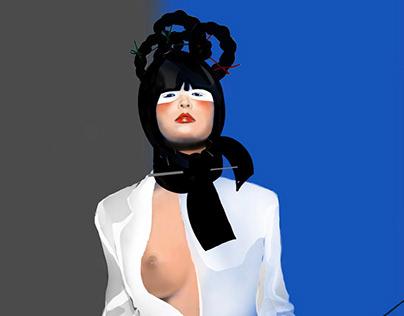 """Erotica"" digital art by Irina Greciuhina"