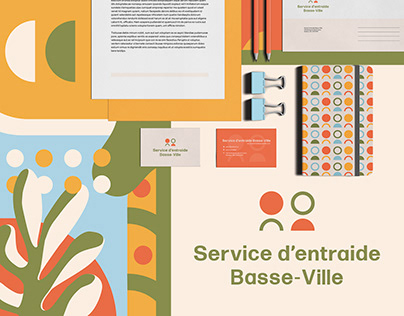 Branding   Service d'entraide Basse-ville