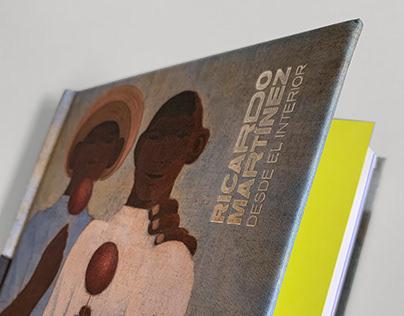Diseño del Libro de Ricardo Martínez en Bellas Artes