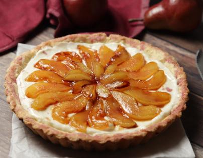 Pears pie