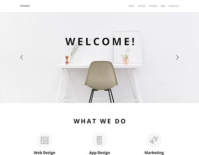 TRIANO - Corporate Website