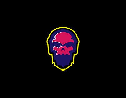 skull head gaming logo