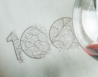 100 Restaurant Brand Identity