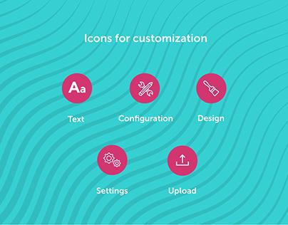 Customization Icons