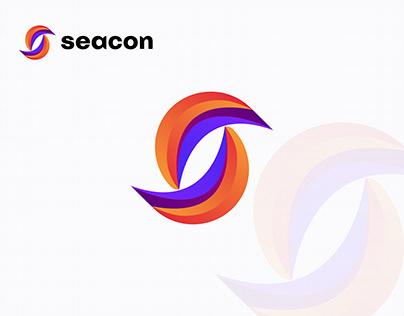 S Letter Modern Logo Mark