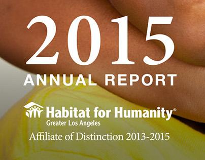 2015 Annual Report - Habitat LA