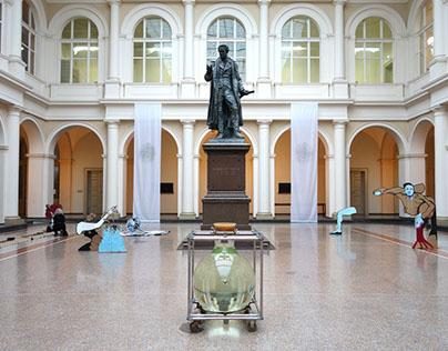 Exhibition at Thaer-Institut Berlin