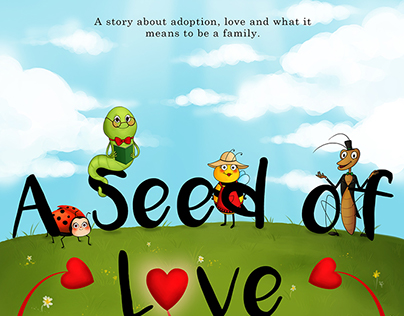 A seed of Love - Book illustrations