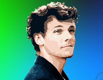 Louis Tomlinson Portrait