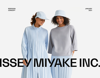 Issey Miyake — UX/UI Concept