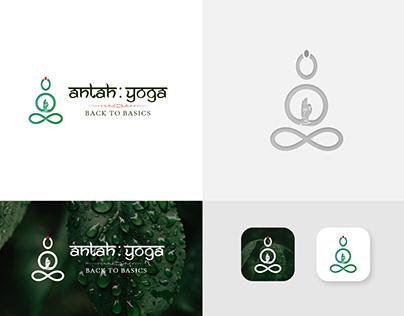 AntahYoga Logo Concept
