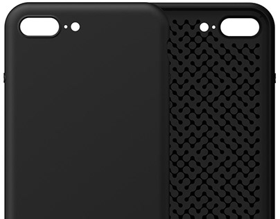 Case and protective glass for iPhone 7 Plus / 8 Plus