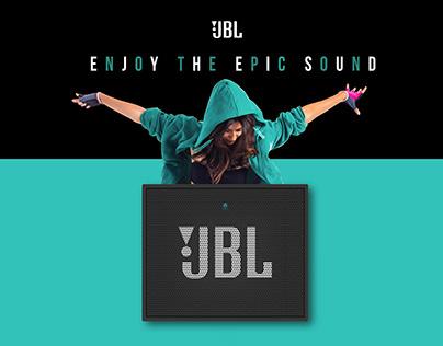 JBL GO+ Portable BT Speaker Ad