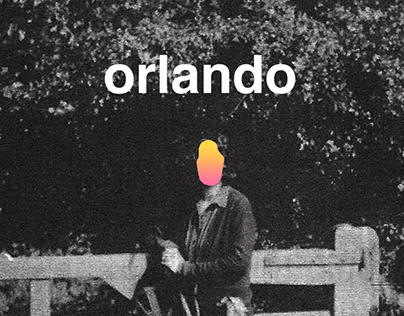 Redesigned Covers: Orlando by Virginia Woolf