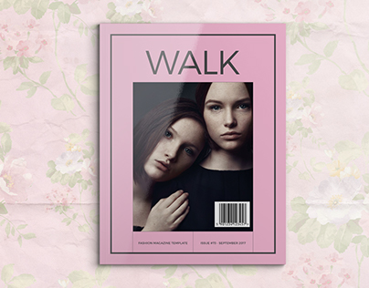Walk - Fashion Magazine Template