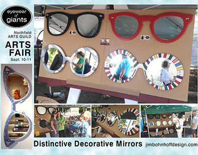 Decorative Mirrors - Eyewear of Giants
